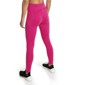 Thumbnail 2 of Pantalon de sport 7/8 Yogini Logo pour femme, Fuchsia Purple Heather, medium