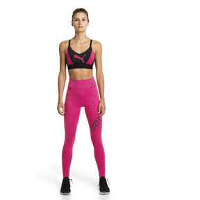 Thumbnail 3 of Pantalon de sport 7/8 Yogini Logo pour femme, Fuchsia Purple Heather, medium