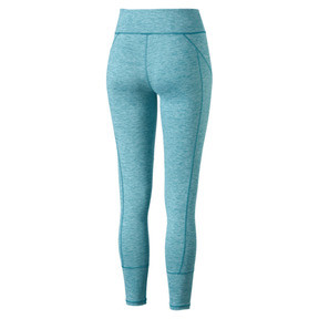 Thumbnail 6 of Pantalon de sport 7/8 Yogini Logo pour femme, Caribbean Sea Heather, medium