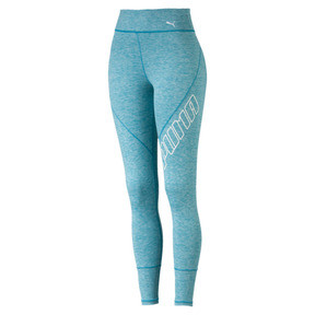 Thumbnail 5 of Pantalon de sport 7/8 Yogini Logo pour femme, Caribbean Sea Heather, medium