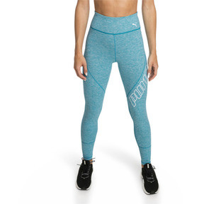 Thumbnail 1 of Pantalon de sport 7/8 Yogini Logo pour femme, Caribbean Sea Heather, medium