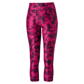 Thumbnail 5 of Stand Out Women's 3/4 Leggings, fuchsia purple-puma black, medium