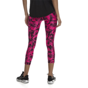 Thumbnail 2 of Stand Out Women's 3/4 Leggings, fuchsia purple-puma black, medium
