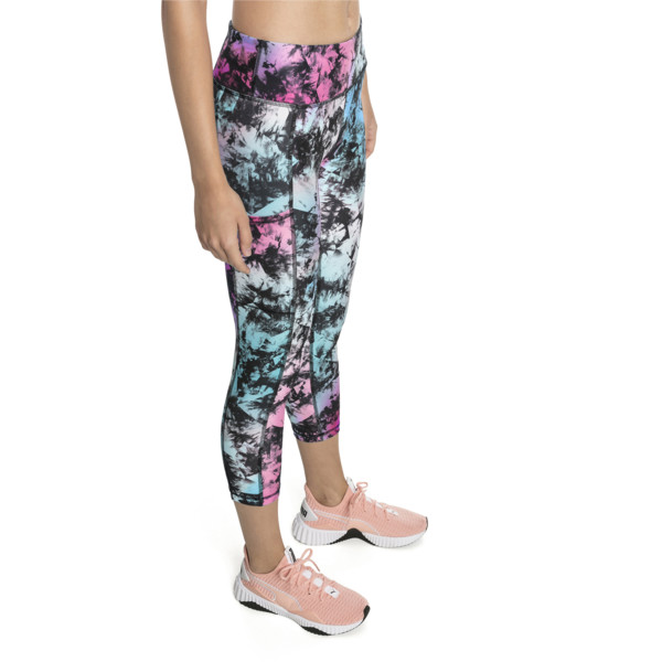 Stand Out Women's Training Leggings, puma black-Multi color, large