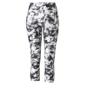 Thumbnail 5 of Stand Out Women's 3/4 Leggings, puma white-puma black, medium