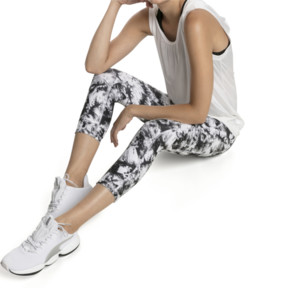 Thumbnail 1 of Stand Out Women's 3/4 Leggings, puma white-puma black, medium
