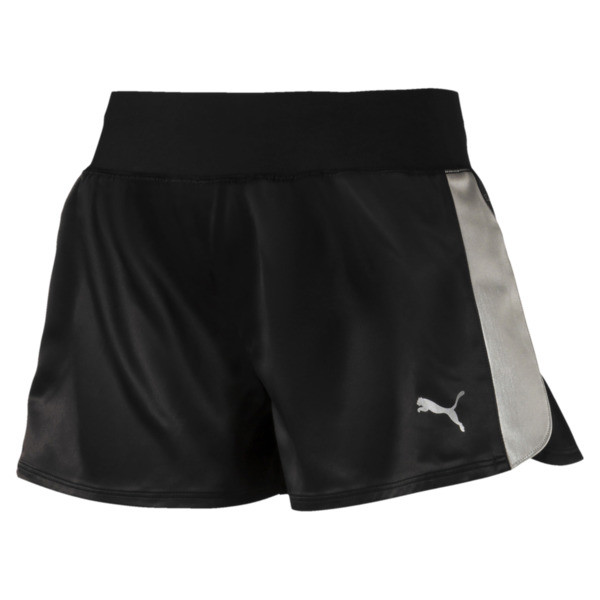 Blast Damen Webshorts, Puma Black, large