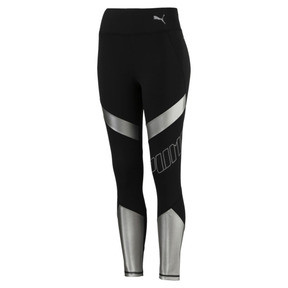 Thumbnail 5 of Elite Speed Women's Leggings, Puma Black-Silver, medium