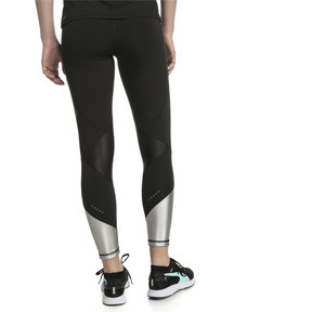 Thumbnail 2 of Elite Speed Women's Leggings, Puma Black-Silver, medium