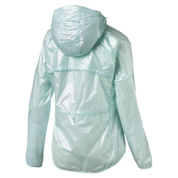 Last Lap Women's Metallic Jacket, Fair Aqua-metallic, large