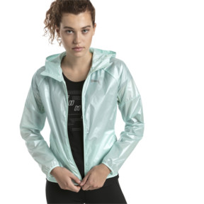 Thumbnail 2 of Last Lap Women's Metallic Jacket, Fair Aqua-metallic, medium