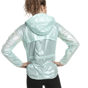 Thumbnail 3 of Last Lap Women's Metallic Jacket, Fair Aqua-metallic, medium