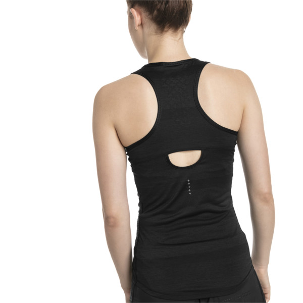 Thermo- R+ Women's Performance Tank, Puma Black Heather, large