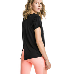 Thumbnail 2 of Ahead Women's Running Tee, Puma Black, medium