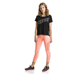 Thumbnail 3 of Ahead Women's Running Tee, Puma Black, medium
