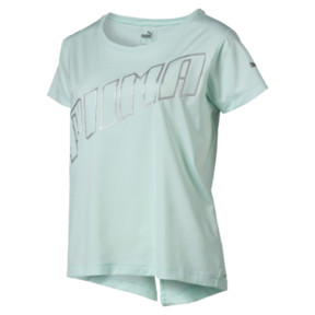Thumbnail 7 of Ahead Women's Running Tee, Fair Aqua, medium