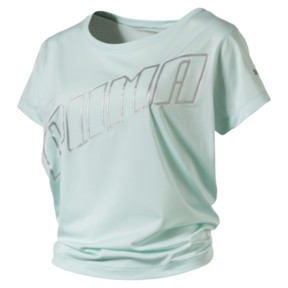 Thumbnail 5 of Ahead Women's Running Tee, Fair Aqua, medium