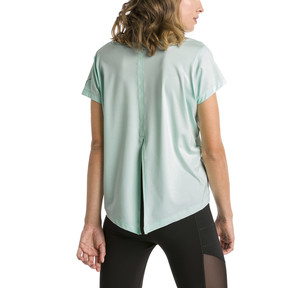 Thumbnail 2 of T-shirt Running Ahead pour femme, Fair Aqua, medium