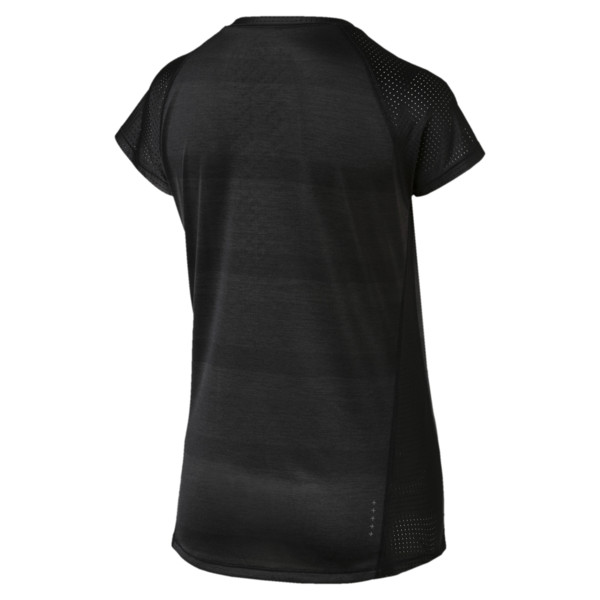 Thermo- R+ Women's Performance Tee, Puma Black Heather, large