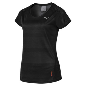 Thumbnail 3 of Thermo- R+ Women's Performance Tee, Puma Black Heather, medium