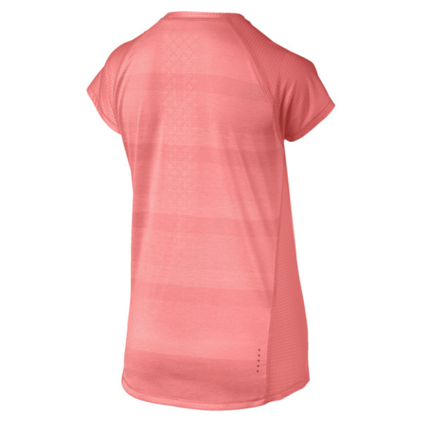 T-shirt Thermo R+ Running pour femme, Bright Peach Heather, large