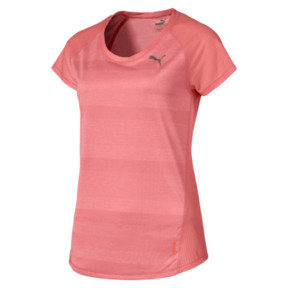 Thumbnail 4 of T-shirt Thermo R+ Running pour femme, Bright Peach Heather, medium