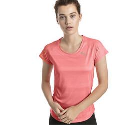 Polera deportiva de running de mangas cortas Thermo R+ para mujer