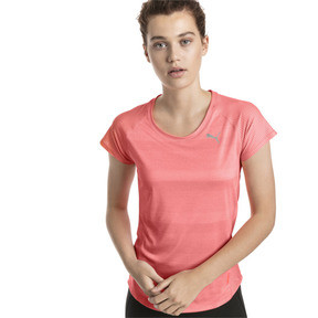 Thumbnail 1 of T-shirt Thermo R+ Running pour femme, Bright Peach Heather, medium