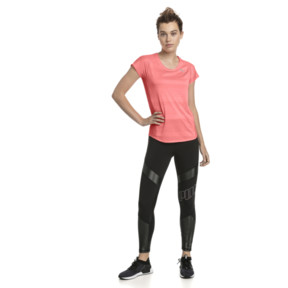 Thumbnail 3 of Thermo-R+ Short Sleeve Women's Running Tee, Bright Peach Heather, medium
