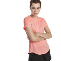 Polera deportiva de running de mangas cortas Epic Heather para mujer