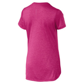 Thumbnail 5 of Epic Heather Damen Running T-Shirt, Fuchsia Purple Heather, medium
