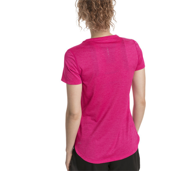 Epic Heather Damen Running T-Shirt, Fuchsia Purple Heather, large