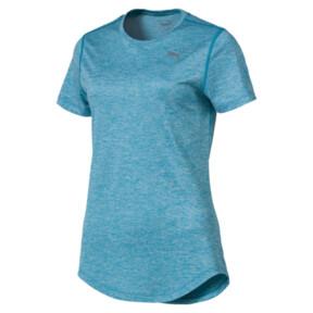 Thumbnail 4 of Epic Heather Short Sleeve Women's Running Tee, Caribbean Sea Heather, medium