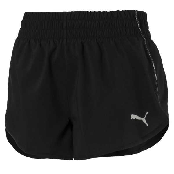 Short court Keep Up pour femme, Puma Black, large
