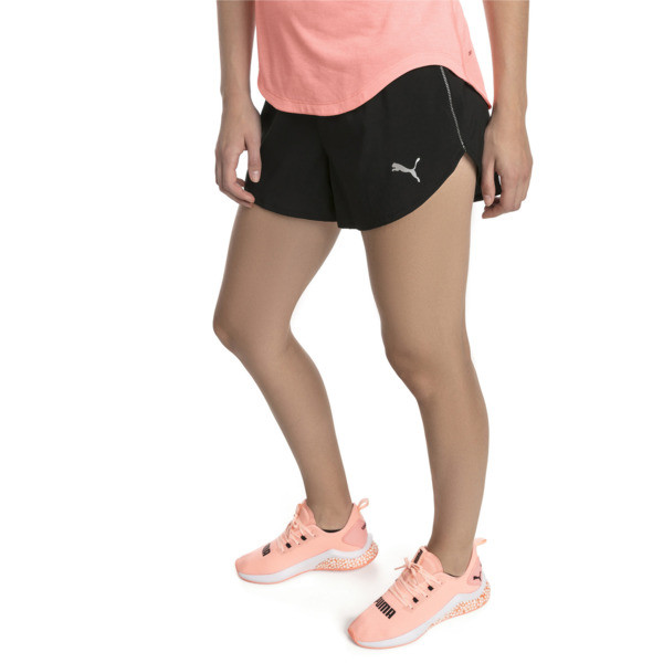 "Ignite 3"" Women's Shorts, Puma Black, large"