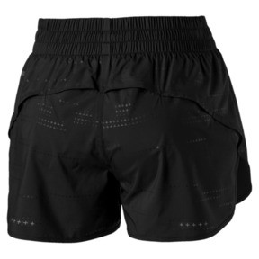"Thumbnail 6 of Keep Up Graphic 3"" Women's Running Shorts, puma black-Q1 Print, medium"