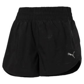 "Thumbnail 5 of Keep Up Graphic 3"" Women's Running Shorts, puma black-Q1 Print, medium"