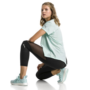 Thumbnail 3 van Ignite 3/4-legging met print voor vrouwen, Puma Black, medium