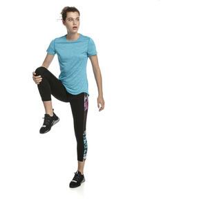 Thumbnail 3 of Ignite Women's 3/4 Graphic Leggings, Puma Black-Multi-Q2 Print, medium