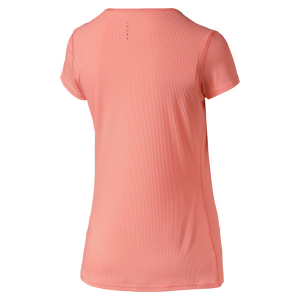 Ignite hardloopshirt met korte mouwen voor vrouwen, Bright Peach, large