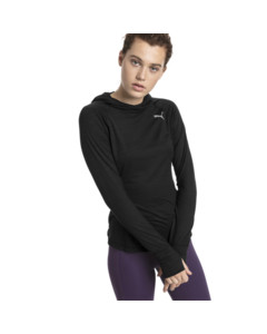 Image Puma Ignite Long Sleeve Hooded Women's Running Tee