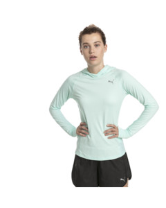 Image Puma Ignite Long Sleeve Hooded Women's Running Tee
