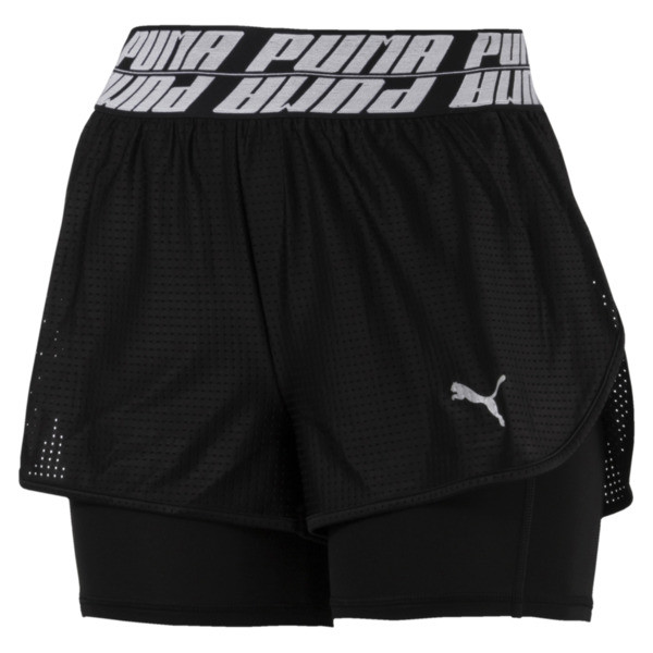 Blast 2-in-1 Women's Shorts, Puma Black, large
