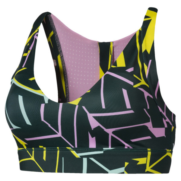 Cosmic Trailblazer Women's Bra, pondpine-PalePink-graphic, large