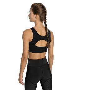 Thumbnail 2 of Damen Nahtloser Medium Support Sport-BH, Puma Black, medium