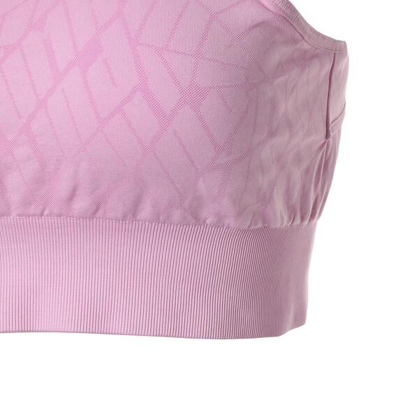 シームレス ウィメンズ ブラトップ M, Pale Pink, large-JPN