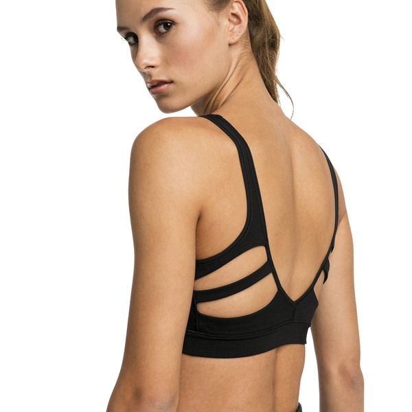 Show Off Low-Impact Bra, Puma Black, large