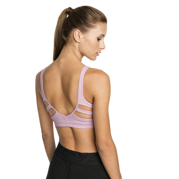 Show Off Low-Impact Bra, Pale Pink, large