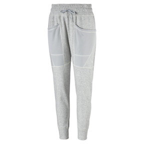 Thumbnail 2 of Yogini Women's 7/8 Pants, Light Gray Heather, medium