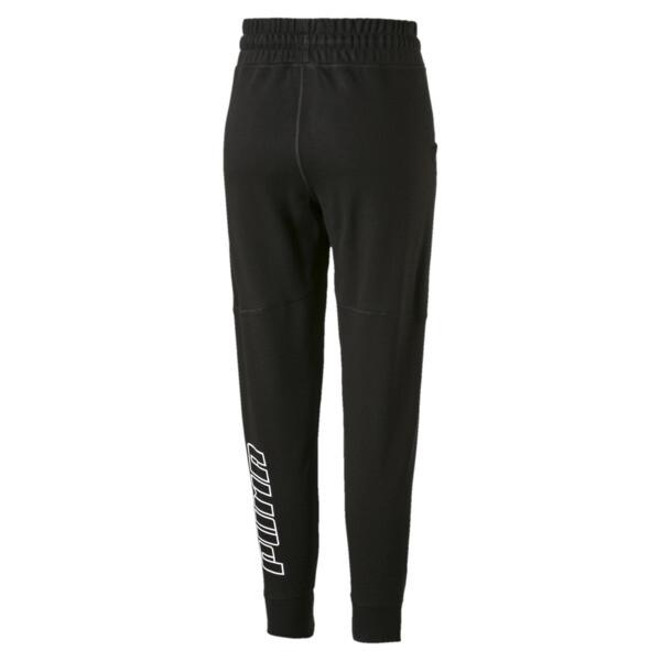 Yogini Women's 7/8 Pants, Cotton Black, large